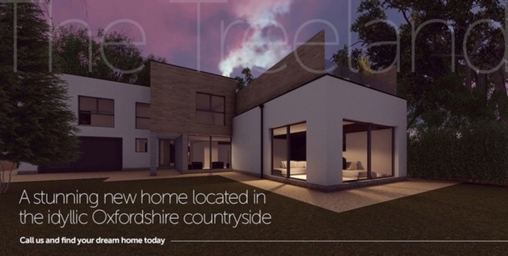A stunning new home located in the idyllic Oxfordshire countryside Abodde Luxury Homes Moderne Häuser