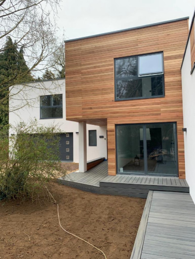Contemporary 4 Bedroom Detached House, Burcot, Abingdon Abodde Luxury Homes Moderne Häuser