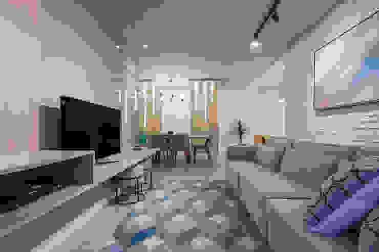Sgabello Interiores HouseholdAccessories & decoration Cotton Multicolored