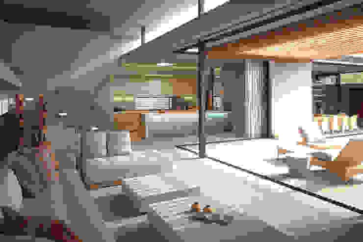 Arquitectura Progresiva Вітальня