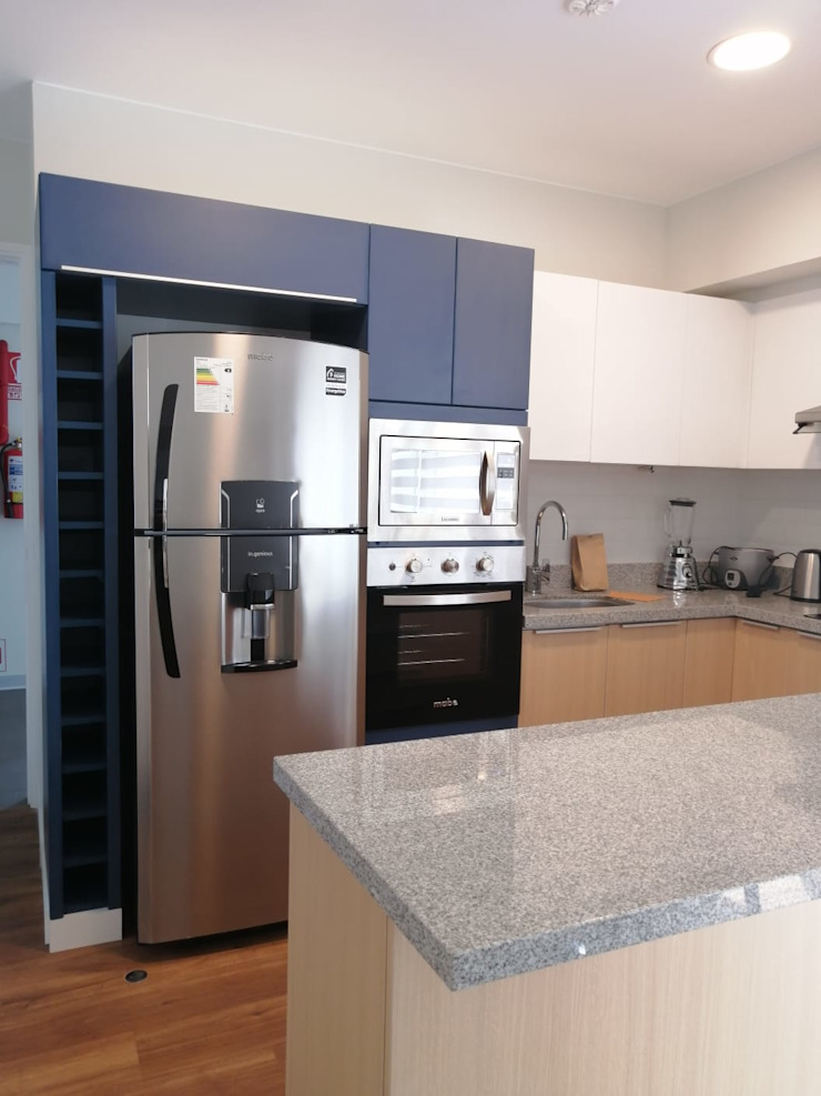 Shirley Palomino Built-in kitchens