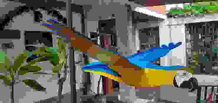 Móviles de Aves Artesania Ikare