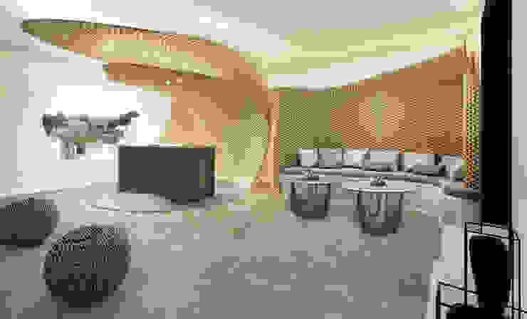 Reception Hall Hotel moderni di ROMAZZINO C.S. SERVICE SRL Moderno