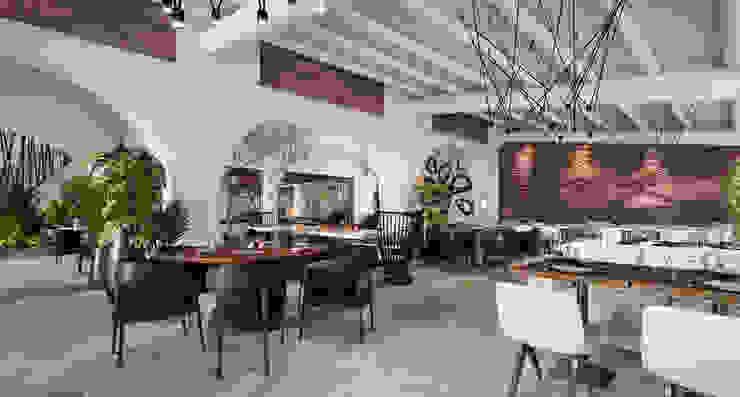 Semi-Outdoor Dining Hotel moderni di ROMAZZINO C.S. SERVICE SRL Moderno
