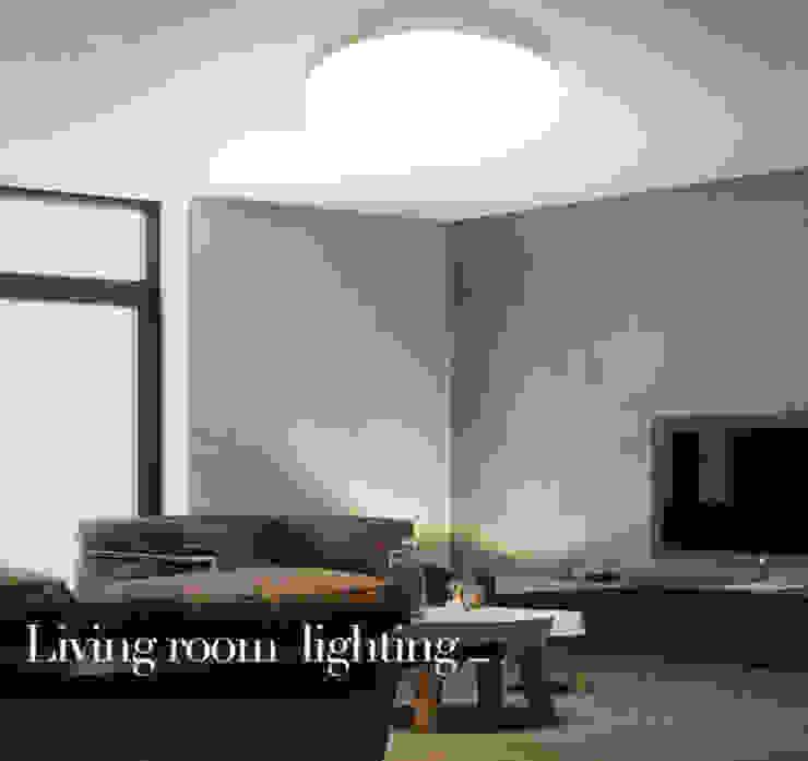 LED Panel Light In Living Room Harold Electrical Modern living room Aluminium/Zinc White