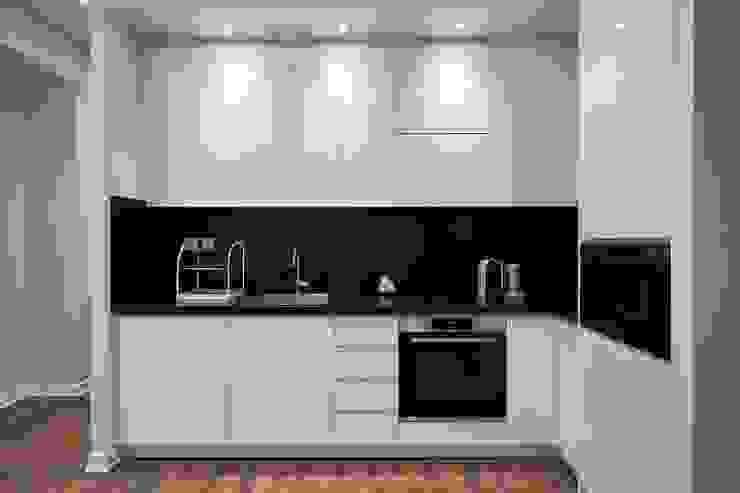 Cocina pequeña Shirley Palomino Muebles de cocinas Compuestos de madera y plástico Blanco