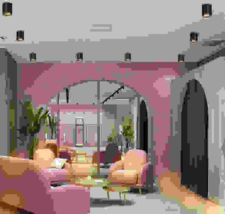 360' Adjustable Surface COB Light In Living Room Harold Electrical Minimalist living room Aluminium/Zinc Black