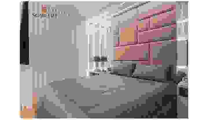 Sgabello Interiores BedroomBeds & headboards Cotton Grey