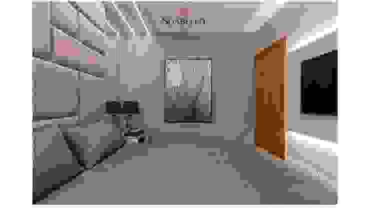 Sgabello Interiores BedroomAccessories & decoration Wood-Plastic Composite Grey