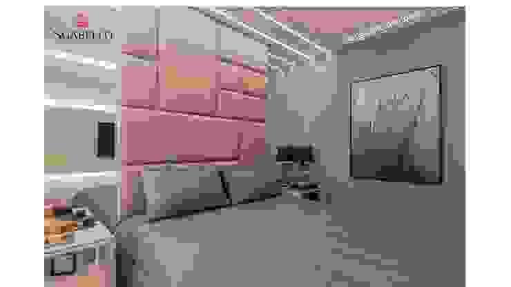 Sgabello Interiores BedroomLighting White