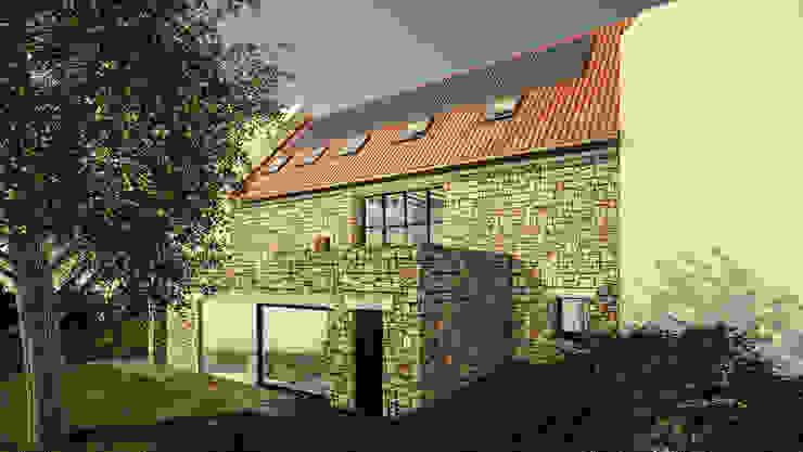 Hinteransicht Steffen Wurster Freier Architekt Einfamilienhaus