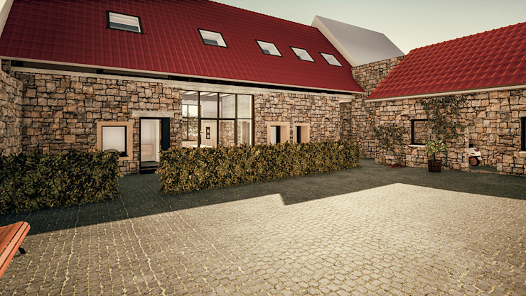 Vorderansicht Steffen Wurster Freier Architekt Einfamilienhaus