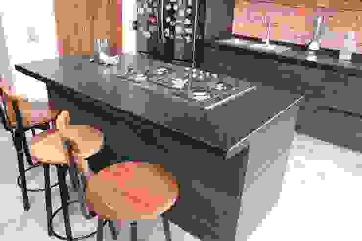 Cocina ceniza Eje diseño colectivo Muebles de cocinas Madera maciza