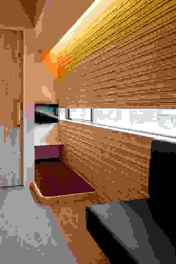 設計事務所アーキプレイス Nursery/kid's room Plywood Brown