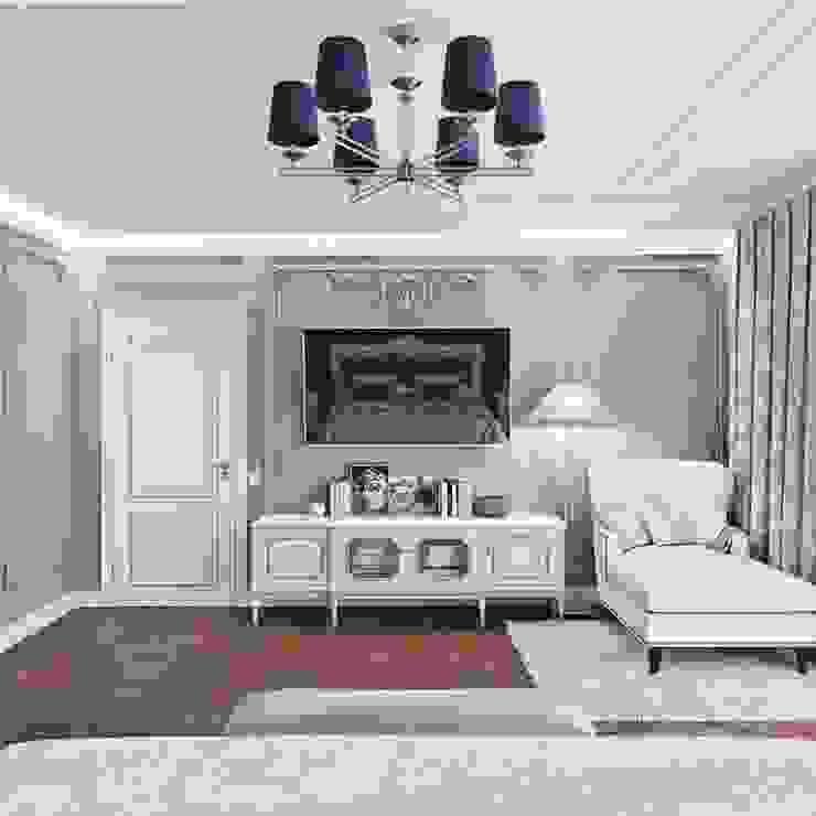 Nickel chandelier ZOLA 6 lights with blue lamp shades Luxury Chandelier BedroomLighting Copper/Bronze/Brass Blue