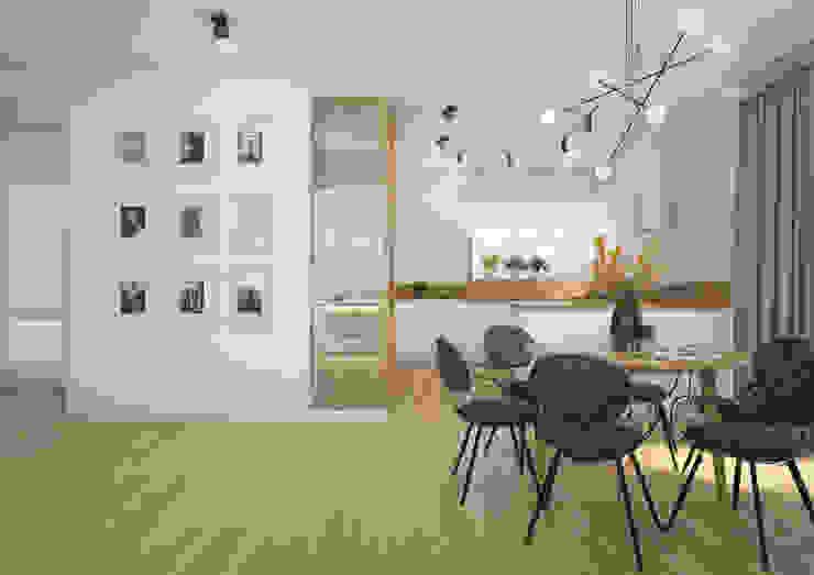 Nevi Studio Comedores de estilo moderno