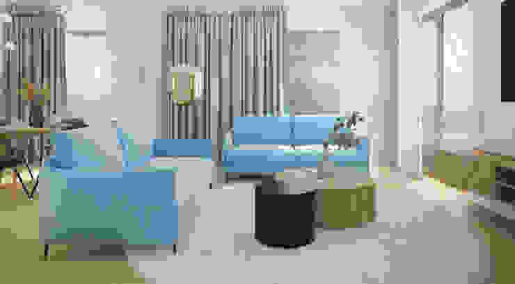 Nevi Studio Livings de estilo moderno