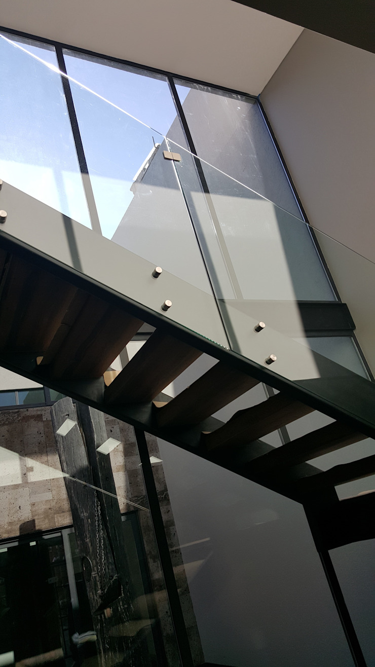 Merkalum Treppe Glas Transparent