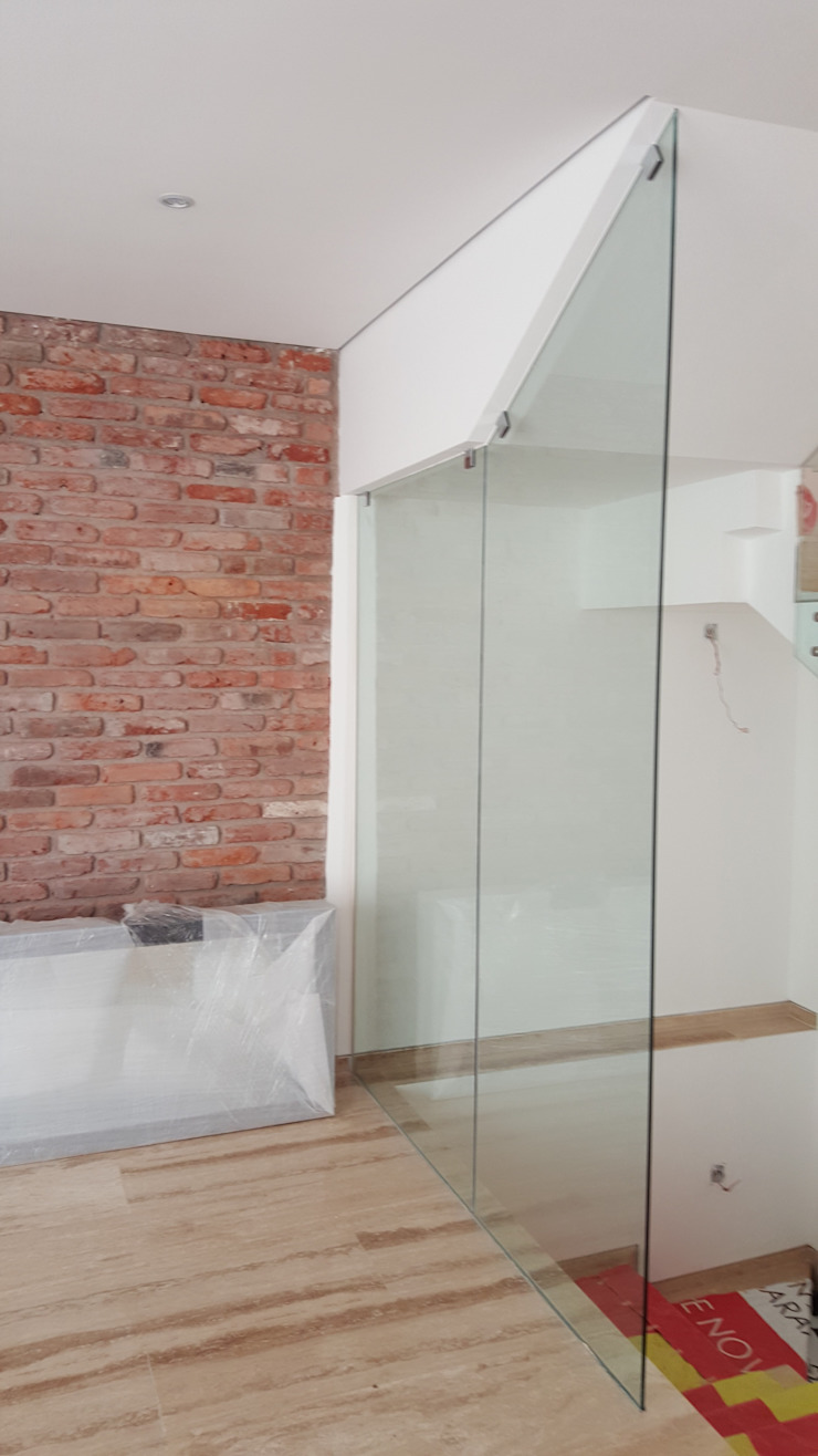 Merkalum Moderne Arbeitszimmer Glas Transparent