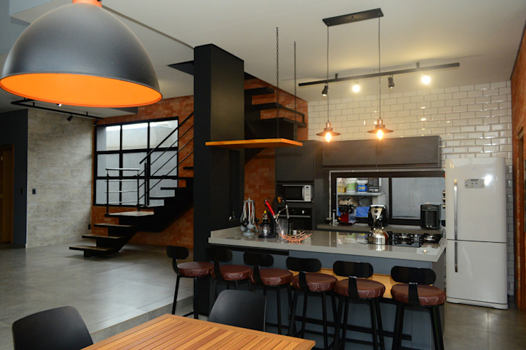 by Jorge Machado Arquitetos Modern Bricks