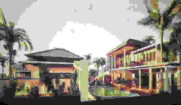 I N VIlla Hotel Tropis Oleh Permanas Design Tropis