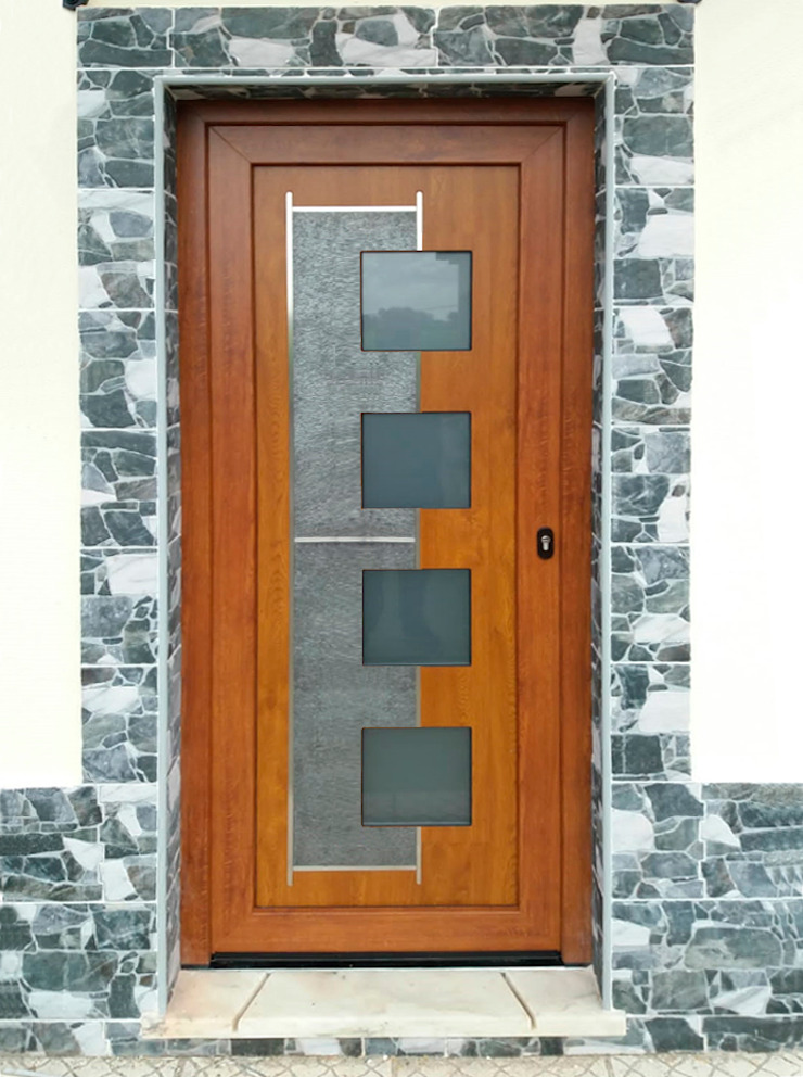 Indupanel Windows & doors Doors Wood effect