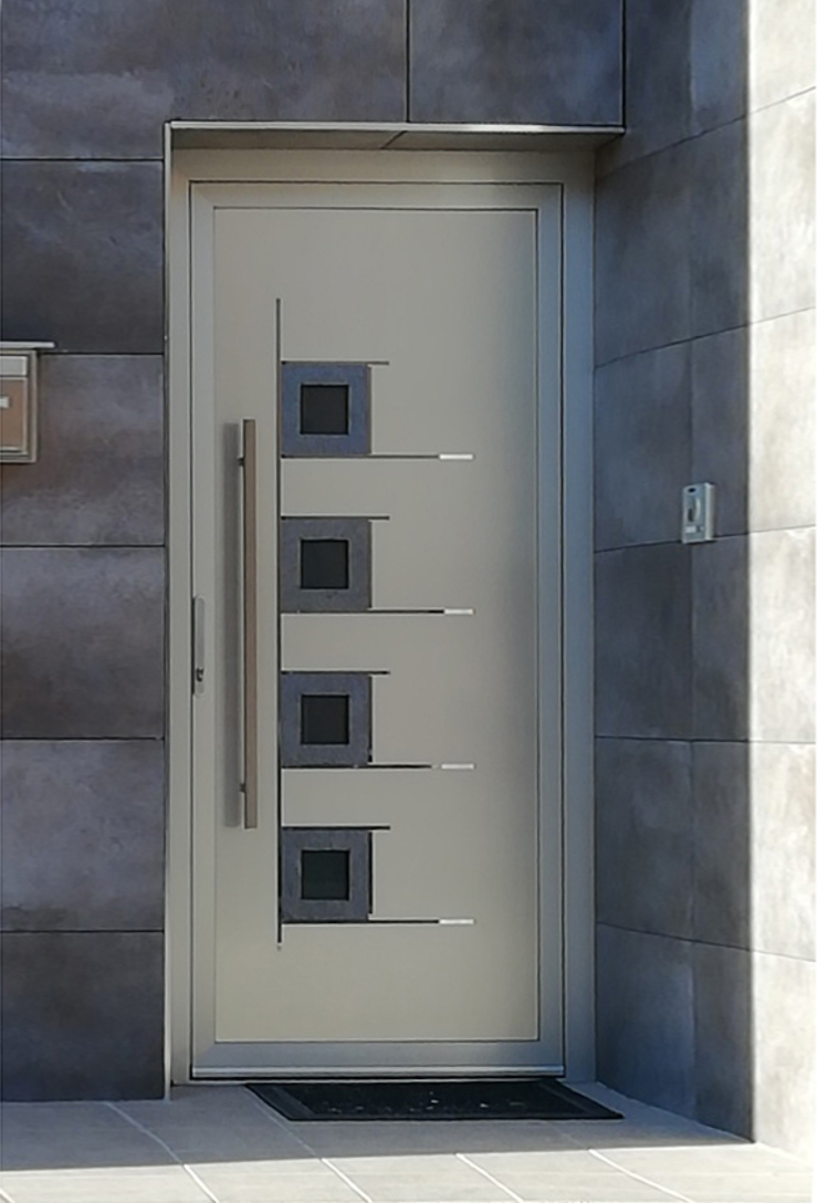 Indupanel Windows & doors Doors Metallic/Silver