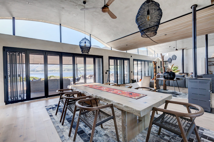 Lodge Prevoli, Stanford, Cape Town - Dining Area House of Supreme CPT Modern dining room Wood