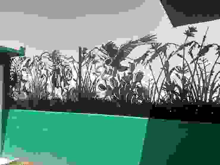HERRAJES ECATEPEC DE ORIENTE, S.A. DE C.V. Garden Fencing & walls Metal