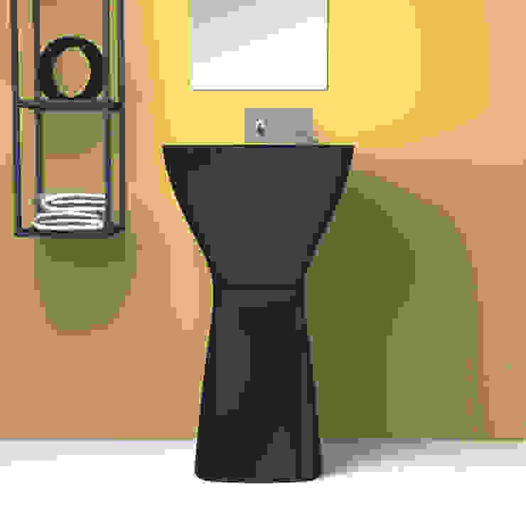 eto' Modern Bathroom Concrete Black
