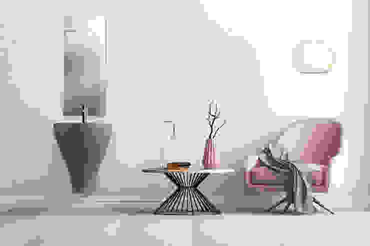 GER grigio eto' Bagno moderno Ceramica Grigio