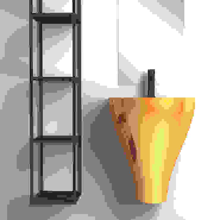 GER oro eto' Bagno moderno Ceramica Ambra/Oro