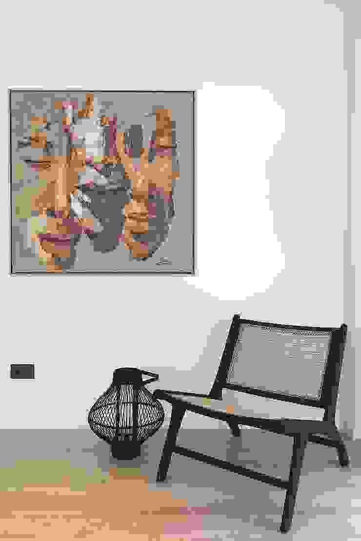 Rincón de lectura y descanso Salones de estilo moderno de MANUEL GARCÍA ASOCIADOS Moderno