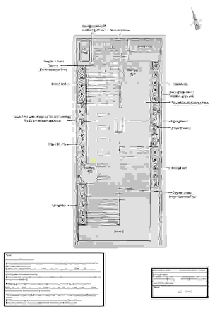 Project Master Plan The Rooted Concept Garden Designs by Deborah Biasoli Modern garden