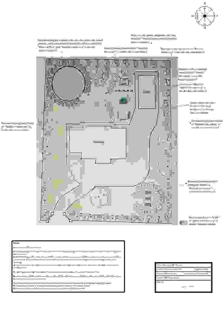 Project Master Plan The Rooted Concept Garden Designs by Deborah Biasoli Rustic style garden
