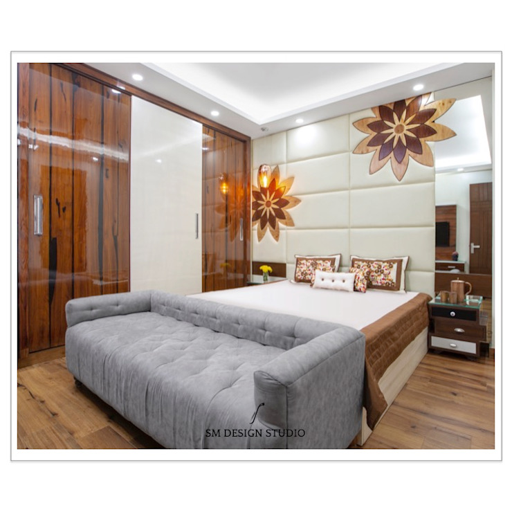 Master Bedroom SM Design Studio Asian style bedroom
