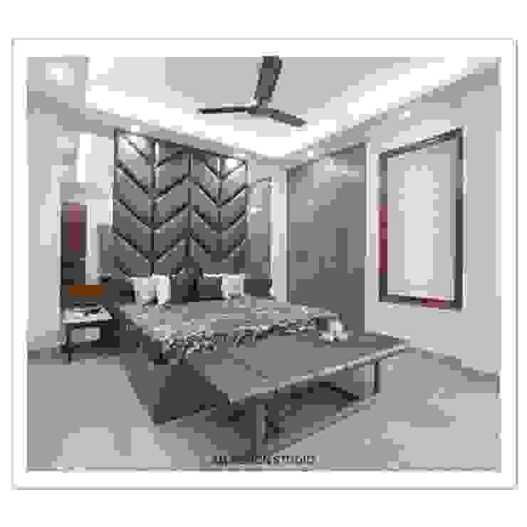 Parents Bedroom Asian style bedroom by SM Design Studio Asian