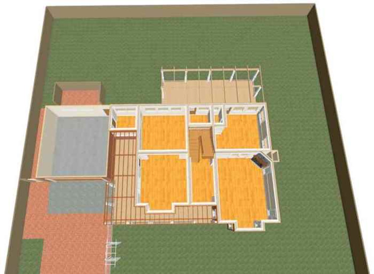 Schematic Ground Floor Plan Perspective Home Design Emporium