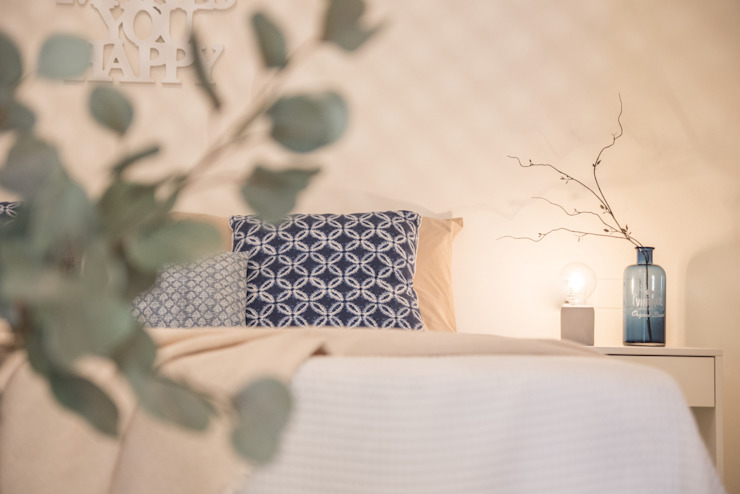 Mirna Casadei Home Staging 臥室布織品