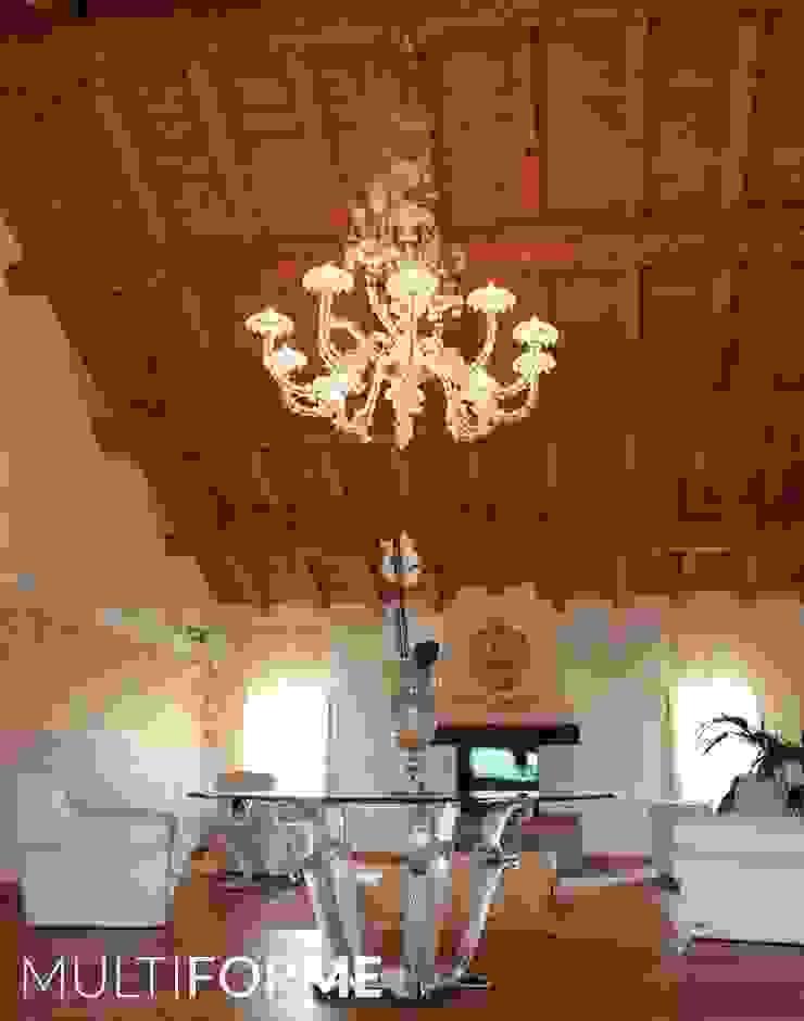 Villa Borghese - grandi lampadari MULTIFORME® lighting Soggiorno classico