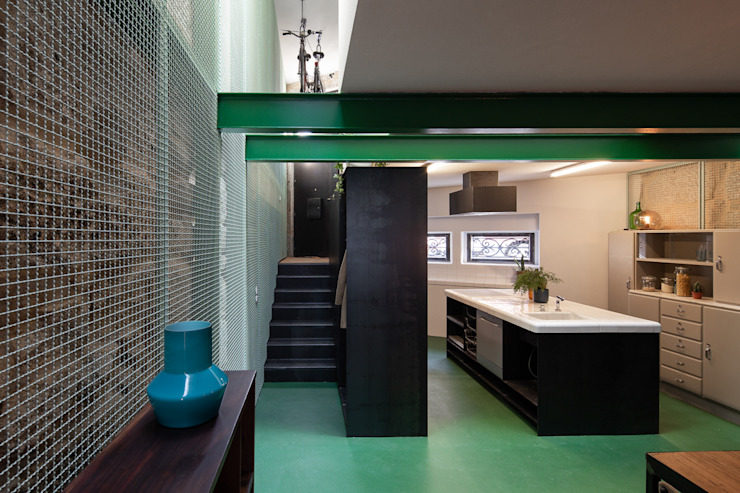 Photoshoot.pt - Architectural Photography Industrial style kitchen