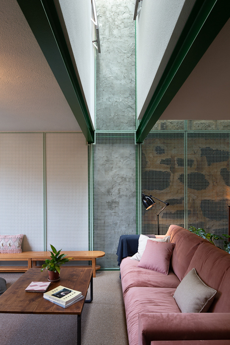 Photoshoot.pt - Architectural Photography Industrial style living room