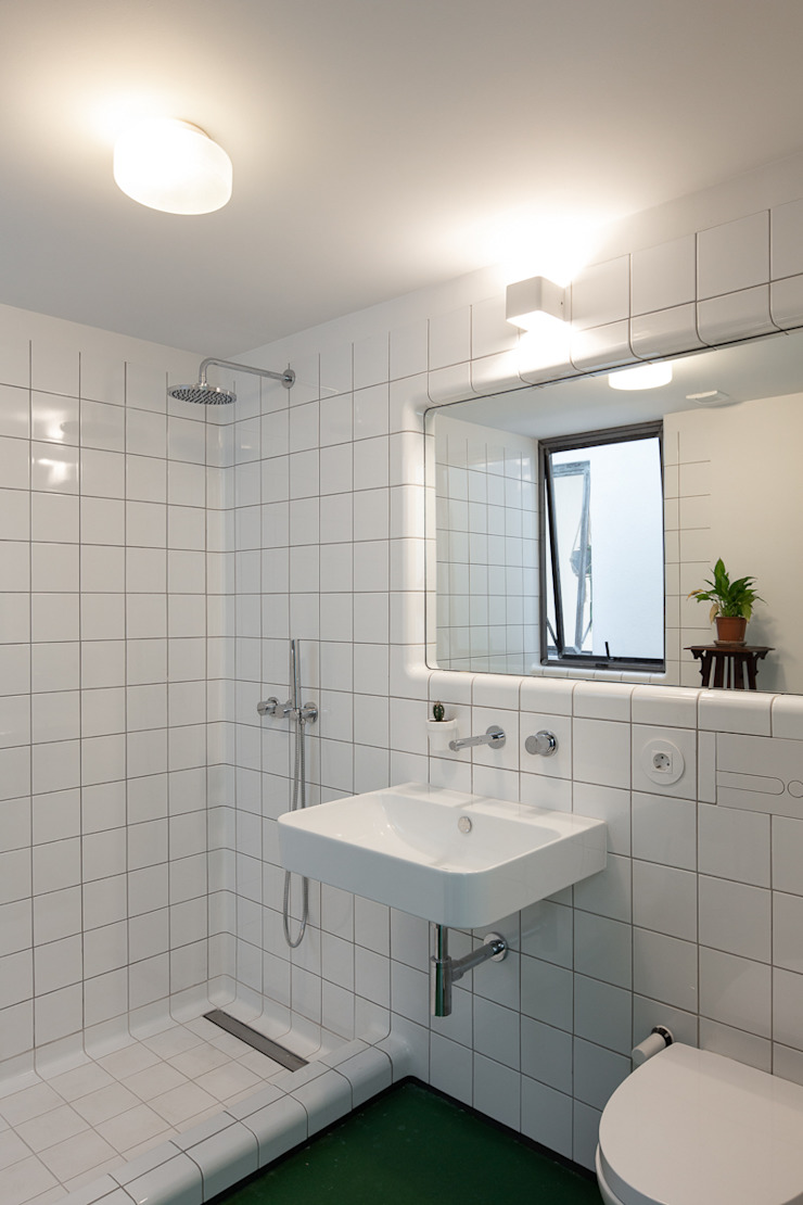 Photoshoot.pt - Architectural Photography Industrial style bathroom