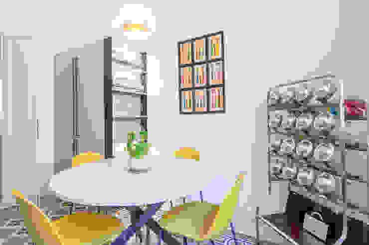 Archifacturing CocinaMesas y sillas Hierro/Acero Multicolor