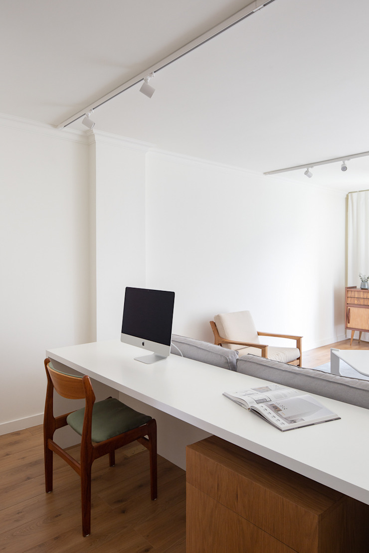 Photoshoot.pt - Architectural Photography Scandinavian style study/office