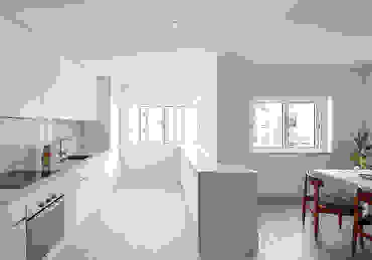Photoshoot.pt - Architectural Photography Scandinavian style kitchen
