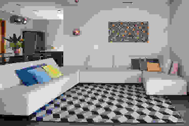 Projeto fotos - Apartamento em Moema - Arquiteto Gabriel Sébastien Abramin Fotógrafo de arquitetura Salas de estar modernas