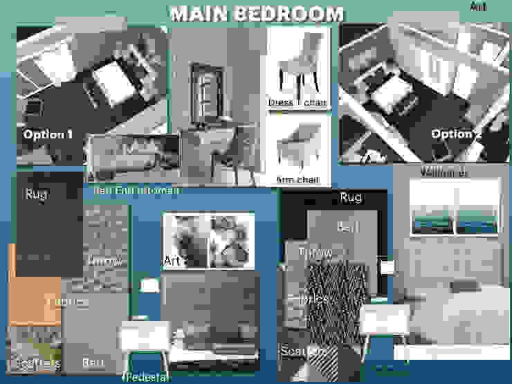 CS DESIGN Modern Bedroom