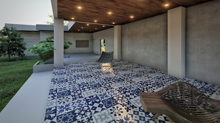 STA.MARIA RESIDENTIAL RESORT ezpaze design+build Minimalist house