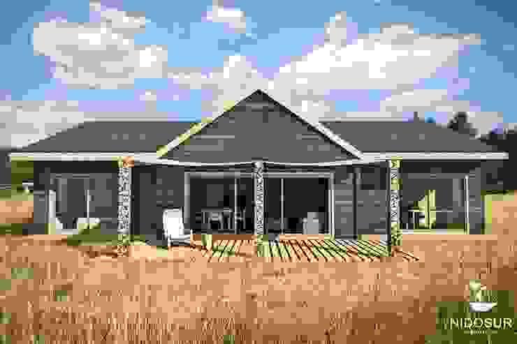 Casa Bonnefont de NidoSur Arquitectos - Valdivia Moderno